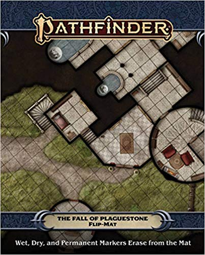 FlipMat The Fall of Plaguestone: Pathfinder RPG Second Edition