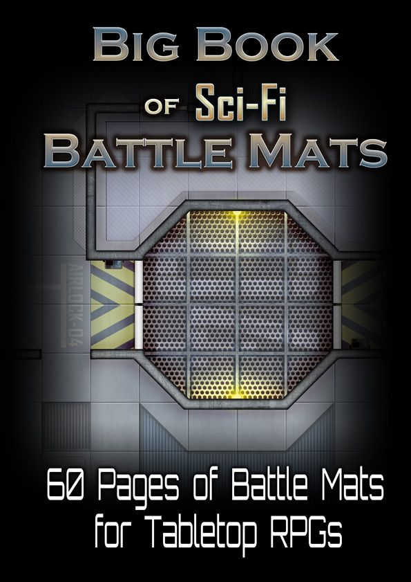 Big Book of Sci-Fi Battle Mats