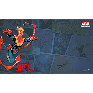 Captain Marvel Card Game Mat