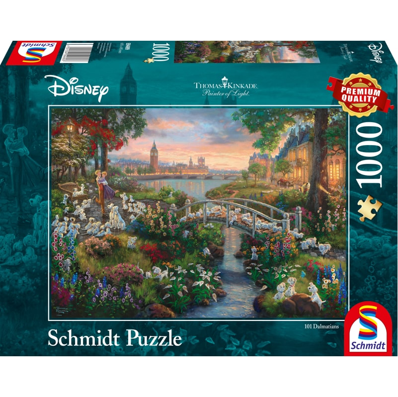 Schmidt Puzzle 1000pc: Disney 101 Dalmations