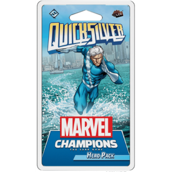 Marvel Champions: Quicksilver Hero Pack Preorder