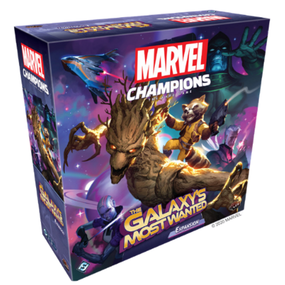 Marvel Champions The Galaxy's Most Wanted Expansion