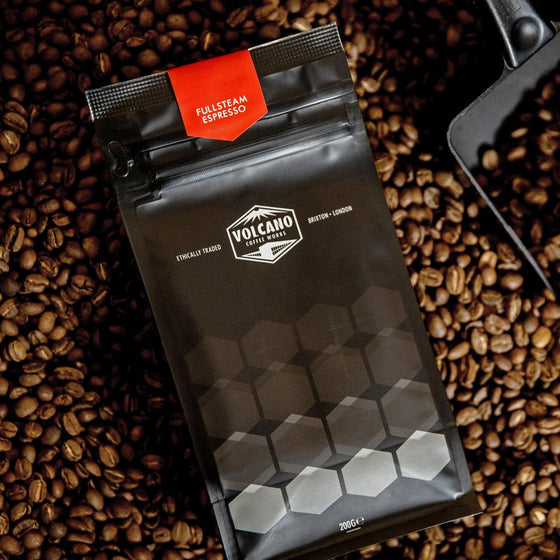 Volcano Coffee Ground  Beans