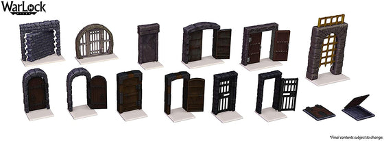 WarLock Tiles: Doors and Archways