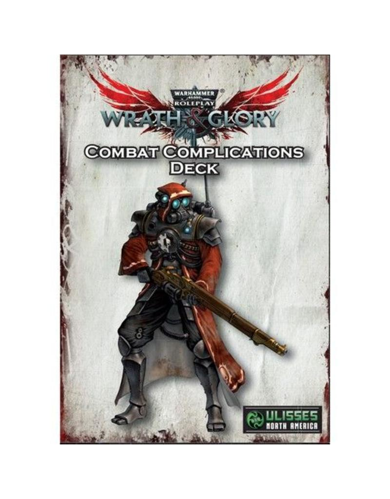 Warhammer Wrath and Glory Combat Complications Deck
