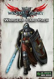 Warhammer Wrath and Glory Wargear Card pack