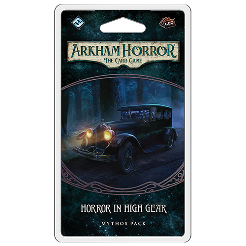 Horror in High Gear- Mythos Pack: Arkham Horror LCG Exp.