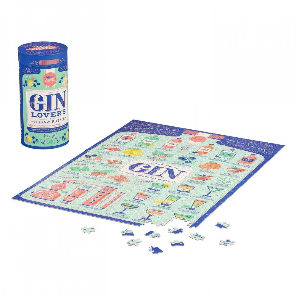 Gin Lover's Jigsaw Puzzle 500pc