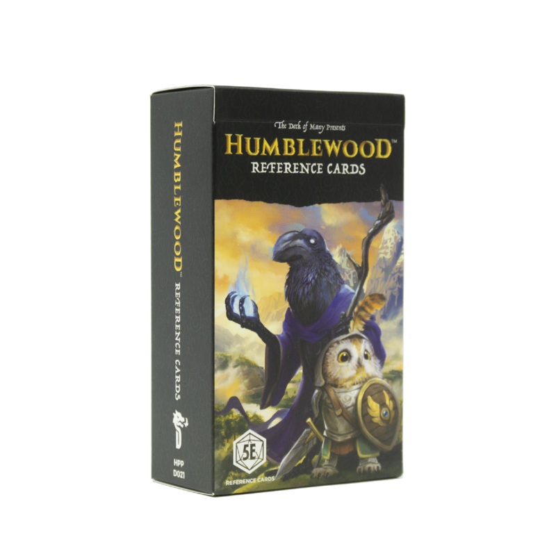 Humblewood Reference Cards