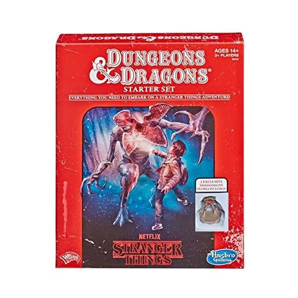 Stranger Things Dungeons and Dragons Starter Set