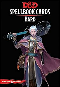 Dungeons & Dragons Bard Spellbook Cards