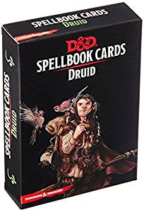 Dungeons & Dragons Druid Spellbook Cards