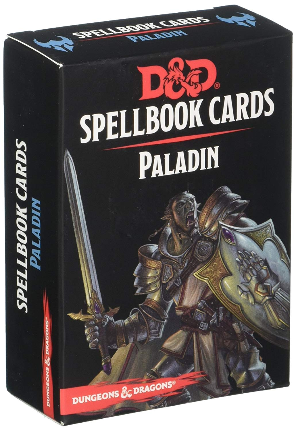 Dungeons & Dragons Paladin Spellbook Cards