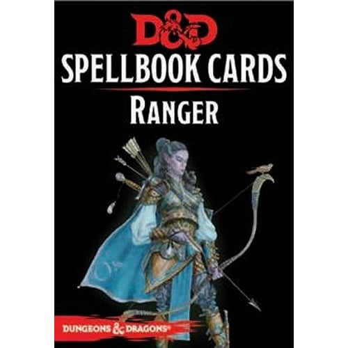 Dungeons & Dragons Ranger Spellbook Cards