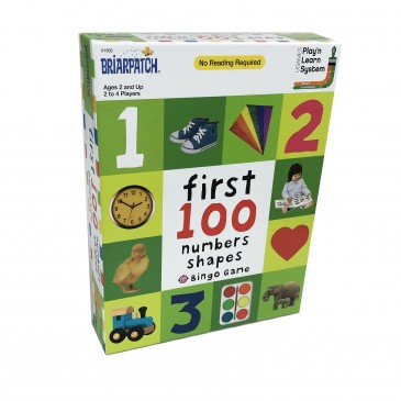 First 100 Numbers Shapes
