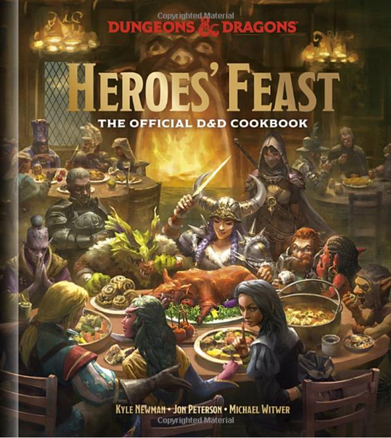 Heroes' Feast: The Official Dungeons & Dragons Cookbook