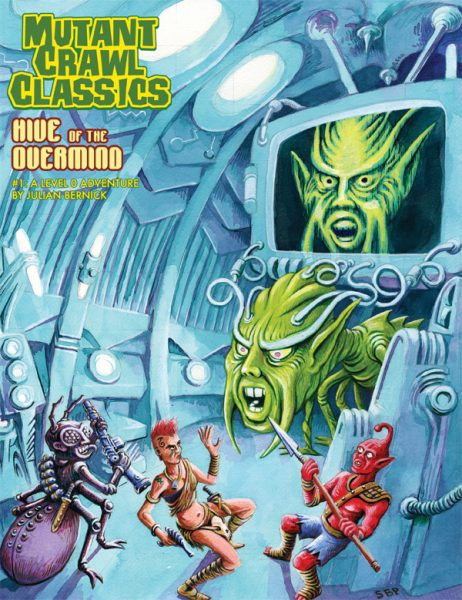 Free RPG Day Ticket Mutant Crawl Classics- Open Air