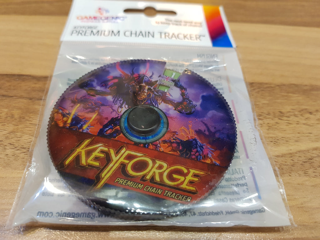 Gamegenic Keyforge Premium Chain Tracker