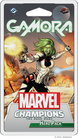 Gamora pre-order for Marvel Champions