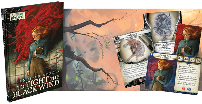 To Fight the Black Wind: Arkham Horror LCG Novella