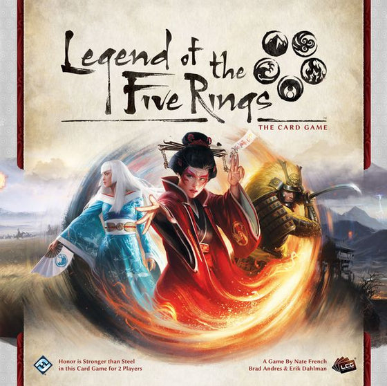 Legend of the Five Rings The Card Game and 12 Expansion pack Bundle