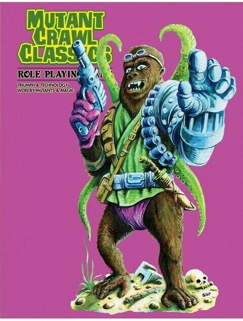 Mutant Crawl Classics Core Book  - Hardcover Slipcase Edition