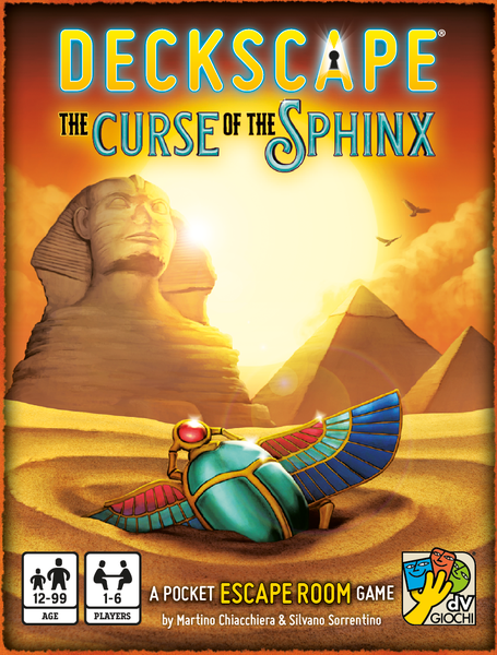 Deckscape - Curse of the Sphinx