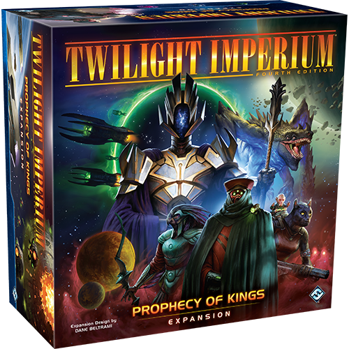 Twilight Imperium 4 Expansion: Prophecy of Kings Preorder