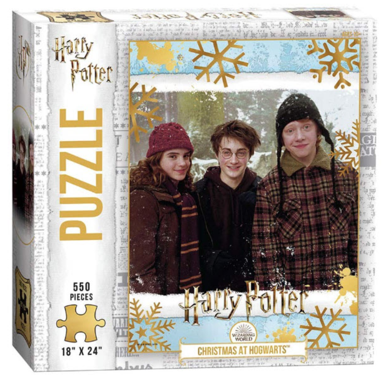 Harry Potter 550pc Christmas at Hogwarts Puzzle