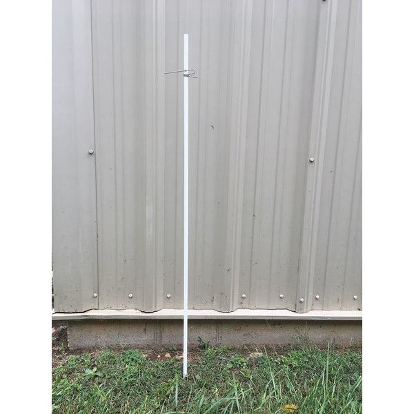 A28~ SunGUARD Pointed Fiberglass Post (48in. x 1/2in.)