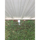 A33~ SunGUARD Pointed Fiberglass Post (48in. x 3/8in.)