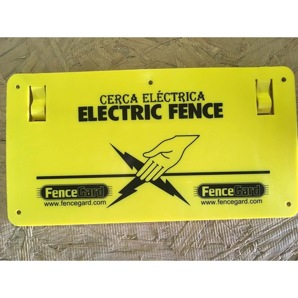 EFS~ Electric Fence Warning Sign