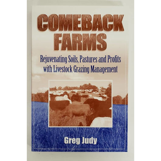 Comeback Farms: Book by Greg Judy