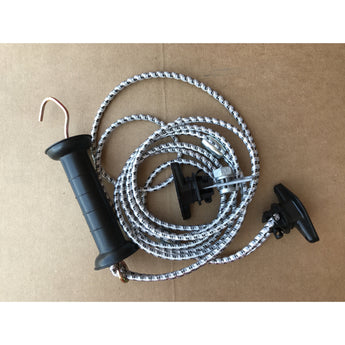 Bungy Gate Kit - Handle and Insulator