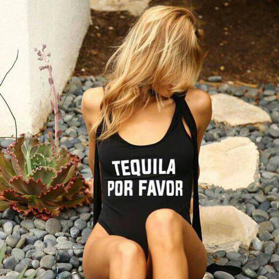 TEQUILA POR FAVOR One Piece Swimwear