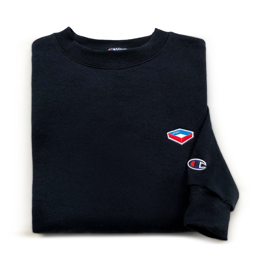 Champion X Latent 'Emblem' Sweatshirt - Navy
