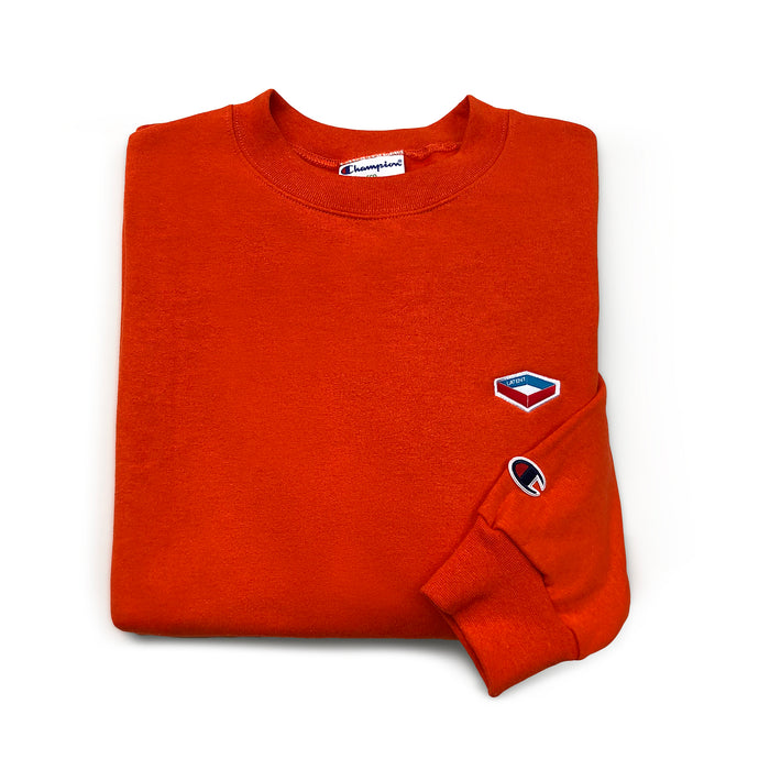 Champion X Latent 'Emblem' Sweatshirt - Orange