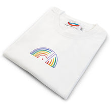 'Stay Home' Tee - White (Vinyl Tee)