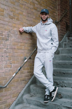 'Royal Emblem' Tracksuit Bottoms - Grey