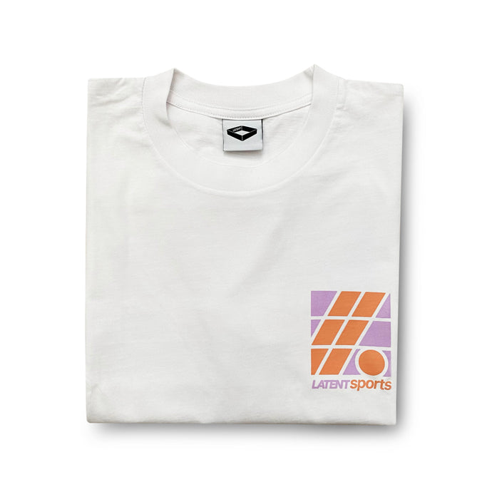 'Fieldview Sports' Tee - White (BACK PRINT)