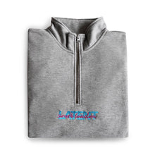 'South London' Q-Zip - Grey