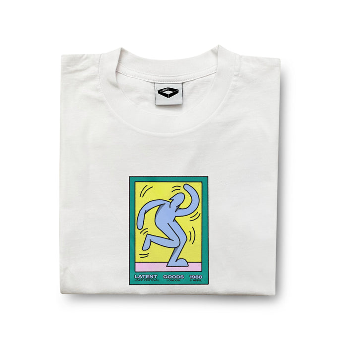 'Jazz' Tee - White (am)