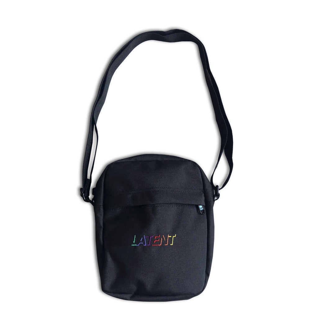 'Crayola' Shotta Bag - Black