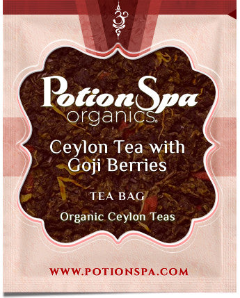 Ceylon Black Tea with Goji Berry Tea