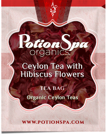 Ceylon Black Tea with Hibiscus Flowers Tea