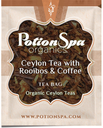 Ceylon Black Tea with Rooibos and Coffee Tea