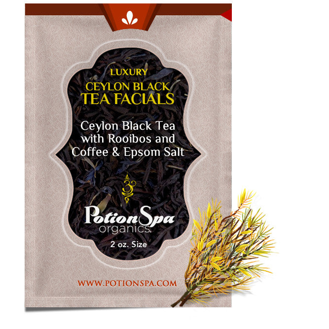 Ceylon Black Tea with Rooibos & Coffee Tea Facial