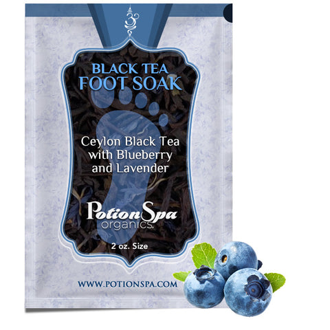 Ceylon Black Tea with Blueberry and Lavender Foot Soak