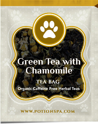 Green Tea with Chamomile (Caffeine Free)
