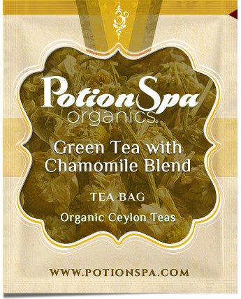 Ceylon Green Tea with Chamomile Tea